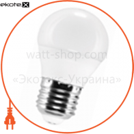 LED лампа LEDEX 3W, E27, шарик 285lm, 4000К, 160°, чип: Epistar (Тайвань)