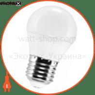 LED лампа LEDEX 3W, E27, шарик 285lm, 4000К, 160град, чип: Epistar (Тайвань)