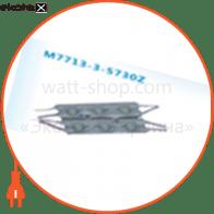 LED модуль 5730, 3LED, 1.2W, IP67, DC12V, 120град