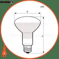 лампа рефлекторная r63 60w e27 прозр.  11-1007 лампы накаливания electrum ELM 11-1007