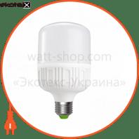 euroelectric led лампа надпотужна plastic 30w e27 4000k (40)