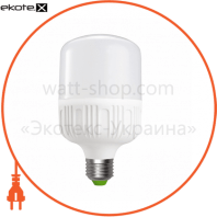 EUROELECTRIC LED Лампа надпотужна Plastic 50W E40 6500K (20)