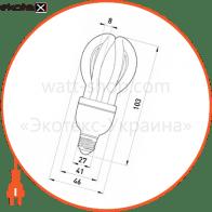 l0310002 Enext энергосберегающие лампы enext лампа енергозберігаюча e.save.flower.e27.7.4200, тип flower, патрон е27, 7w, 4200 к