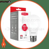 Лампа світлодіодна A65 12W 3000K 220V E27