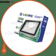 Светодиодный прожектор LEDEX 50W RGB, 120?, IP65, TL11716