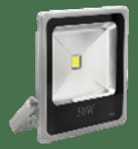 Светодиодный прожектор LEDEX 10W, 800lm, 6500К холодный белый, 120?, IP65, (slim)