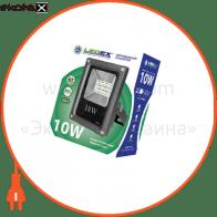 Светодиодный прожектор LEDEX 10W slim SMD, 900lm, 6500К холодный белый, 180?, IP65, TL12732