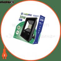 Светодиодный прожектор LEDEX 30W slim SMD, 2700lm, 6500К холодный белый, 180?, IP65, TL12734