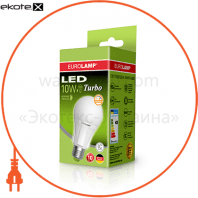 EUROLAMP LED Лампа TURBO NEW dimmable A60 10W E27 4000K (50)