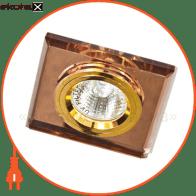 8170-2/(CD3006) коричневый-золото MR16 50W BR/GD