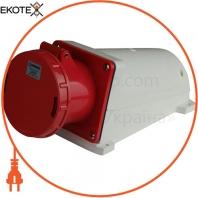 Розетка силовая стационарная ENERGIO 144(3P+PE) 125A 415В IP67