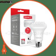 Лампа світлодіодна R63 7W 3000K 220V E27