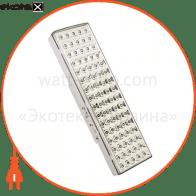 EL18 аккум.светильник 80 LED белый DC (см 30*9*5.4)