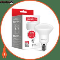 Лампа світлодіодна R50 5W 4100K 220V E14 (1-LED-554)