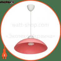 Светильник ERKA 1301, потолочный, 60W, (розовый), Е27