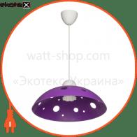 Светильник ERKA 1302, потолочный, 60W, (фиолетовый), Е27