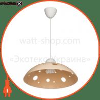 Светильник ERKA 1302, потолочный, 60W, (слоновая кость), Е27