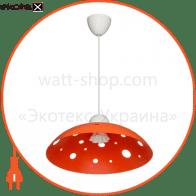 Светильник ERKA 1302, потолочный, 60W, (оранжевый), Е27