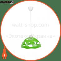 Светильник ERKA 1304, потолочный, 60W, (салатовый), Е27