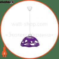 Светильник ERKA 1304, потолочный, 60W, (фиолетовый), Е27