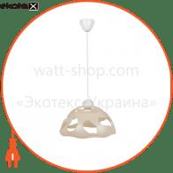 Светильник ERKA 1304, потолочный, 60W, (слоновая кость), Е27