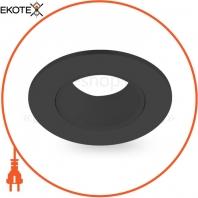 Встраиваемый поворотный светильник Feron DL0375 черный