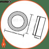 светодиодный светильник ledex, круг, накладной,  18w,  4000к нейтральный, матовое стекло, напряжение: ac100-265v, алюминий светодиодные светильники ledex Ledex 102218