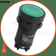 Кнопка e.SB7.13 зеленая NO+NC