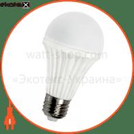Лампа светодиодная e.save.LED.G60A.E27.9.4200 керамическая, тип шар, 9Вт, 4200К, Е27