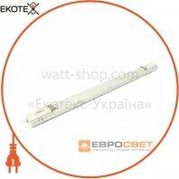Евросвет 39714 світильник промисловий евросвет 2*1200мм під лампу т8 led-sh-40 ip65 slim