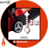 Einhell 3413155 газонокосилка аккумуляторная ge-cm 18/30 li (1x3.0ah)