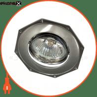 Встраиваемый светильник Feron 305Т MR-16 серый хром 17569