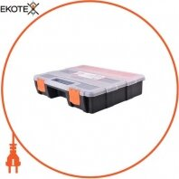 Органайзер-кейс пластиковый, e.toolbox.17, 220х290х60мм