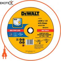 Круг отрезной DeWALT DT43909