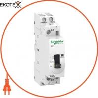 Модульный контактор iCT25A 2НО 230/240В АС 50ГЦ, с ручным управлением