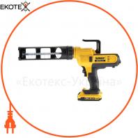 Пистолет для герметиков аккумуляторный DeWALT DCE560D1