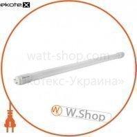 Лампа светодиодная трубчатая евросвет 9Вт 6400K L-600-6400-13 T8 G13