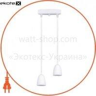 Светильник светодиодный GPL-01C GLOBAL 14W 4100K белый