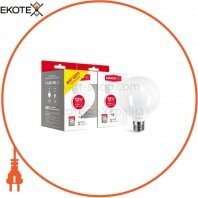 Набор ламп MAXUS G95 12W 4100K E27 (2 шт.)