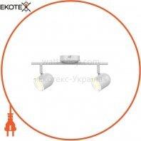 Спотовый светильник MAXUS MSL-01C 2x4W 4100K белый