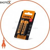 Videx  Батарейка солевая Videx R6P/AA 2pcs small blister 40 шт/уп