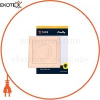 Светорегулятор 600Вт Emily 9215 крем ELCOR
