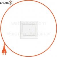 Выключатель 1-кл проходной Kaxige белый TURBO