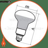 лампа светодиодная рефлекторная r50 pa-31 5w e14 2700k алюмопл. корп. 18-0004