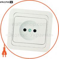 Щит ERKA 022, 200x300x120 з монтажною панеллю, опалові двері IP 65