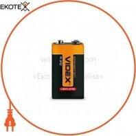 Videx Батарейка солевая Videx 6F22/9V (Крона) 1pcs shrink 24 шт/уп