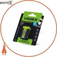 Videx Батарейка щелочная Videx 6LR61/9V (Крона) 1pcs blister 12 шт/уп