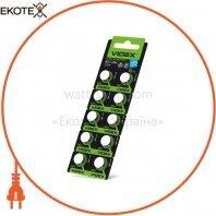 Батарейка часовая Videx  AG 13(LR44) blister card 10 pc 100 шт/уп