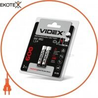 Аккумуляторы Videx HR03/AAA 600mAh double blister/2pcs 20 шт/уп