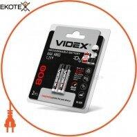 Аккумуляторы Videx HR03/AAA 800mAh double blister/2pcs 20 шт/уп